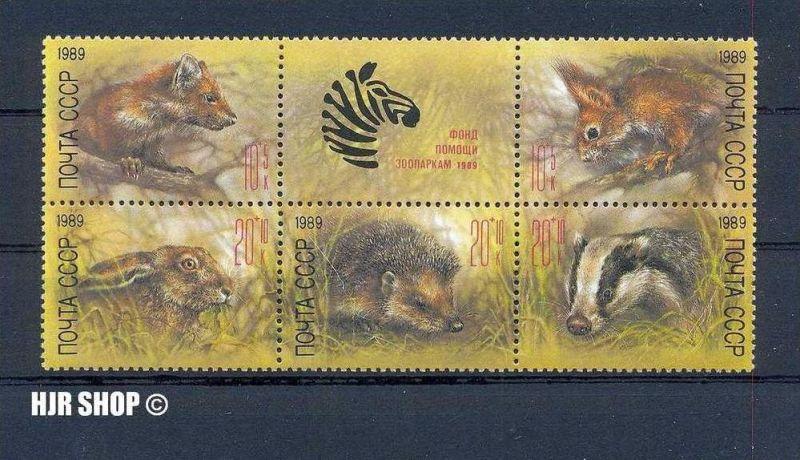 1989, Kleinbogen Wildtiere gest.,