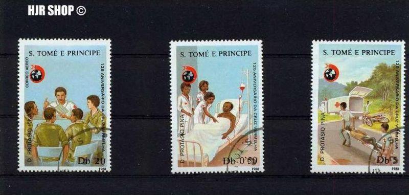 1988, 3 x S. Tomè E Principe