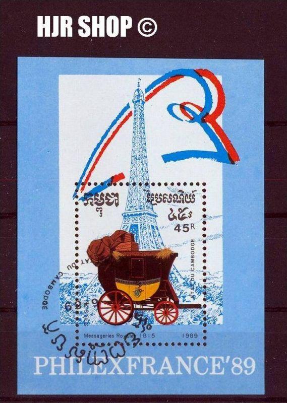 1989, Philexfrance`89, Kambodscha