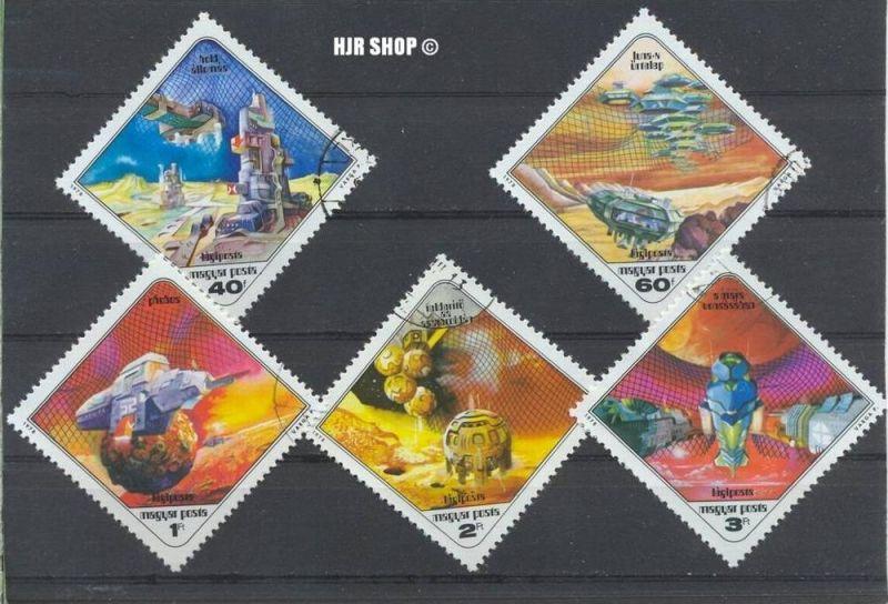 1978, Febr. Weltraumforschung, MiNr. 3265-69, Gest. Zustand: Gut