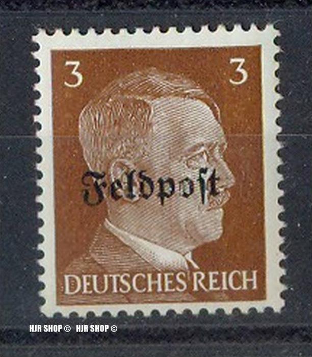 Ruhrkessel (April 1945), Luftpostmarke MiNr. 782 mit waagerechtem Bdr.-Aufdruck