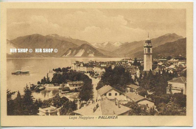 Verbania Lago Maggiore Karte.Um 1920 1930 Ansichtskarte Verbania Pallanza Am Lago Maggiore Ungebrauchte Karte