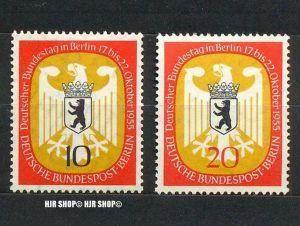 1955, Bundestag Berlin, 129+130 **, Satz 2 W