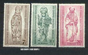 1955, Bistum Berlin, 132+133+132 **, Satz 3 W