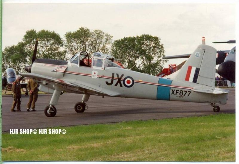 Percival Provost T1 S.56 (XF877, JX, G-AWVF)