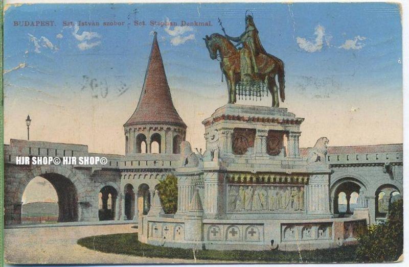 """um 1920/1930 Ansichtskarte,  """"Budapest""""  ungebrauchte Karte"""