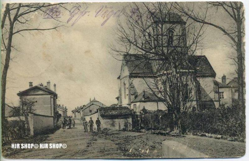 """""""Unbekannter Ort"""" um 1910/1920  FELDPOST,  ohne Frankatur, Stempel,"""