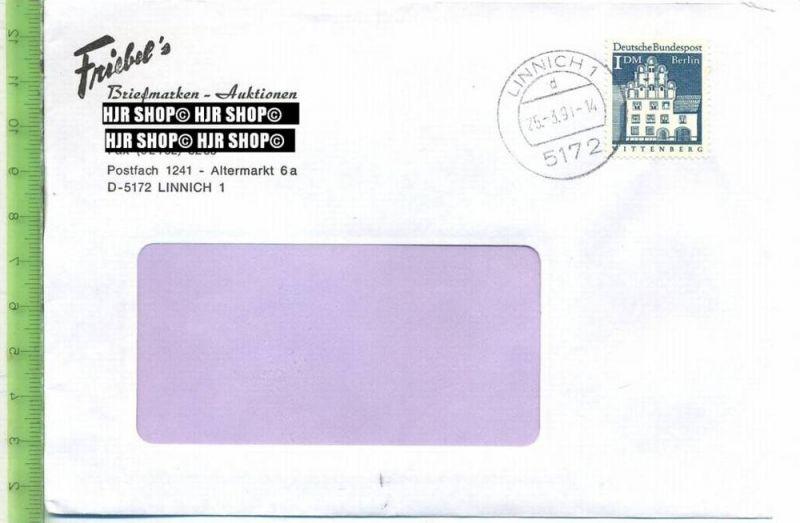 1966, Bauwerke II, MiNr.282 EF, 1 DM