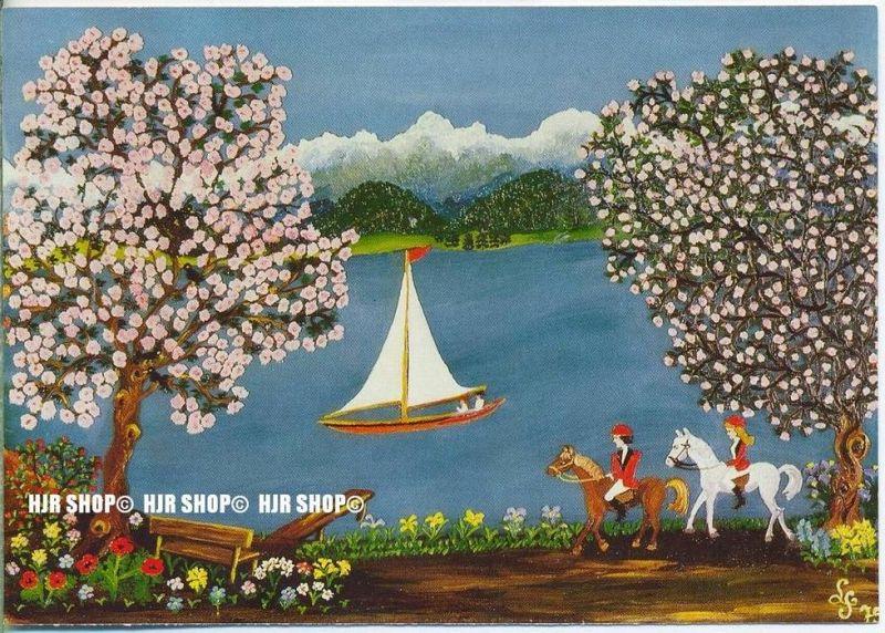 WIECHMANN – BILDKARTEN Lucy Seemann, Am Starnberger See, Nr.5100