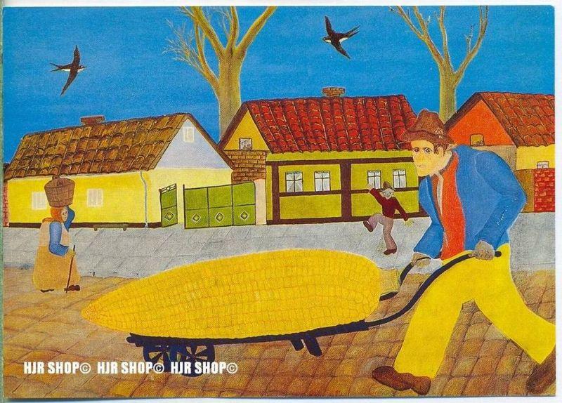 WIECHMANN – BILDKARTEN MILAN BOGDANOVIC, Marktgang, Nr.5197