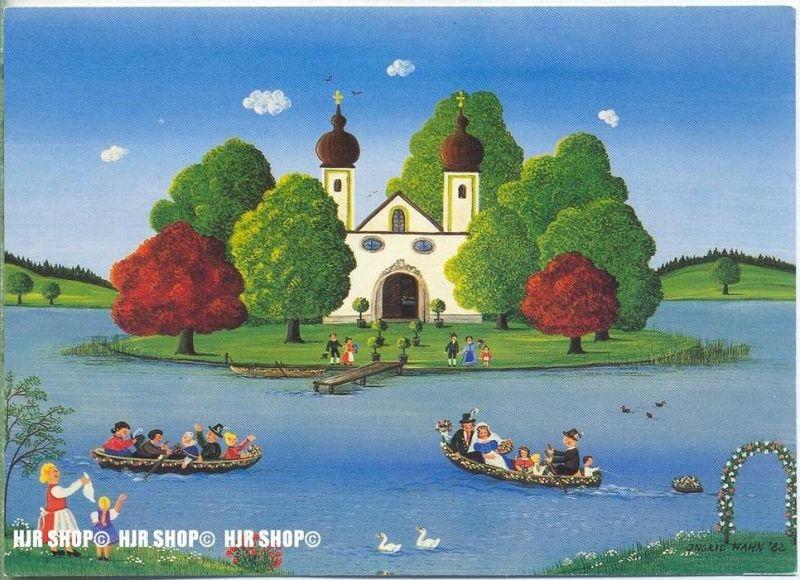WIECHMANN – BILDKARTEN INGRID HAHN, zur Hochzeit auf die Seeinsel, Nr.5220