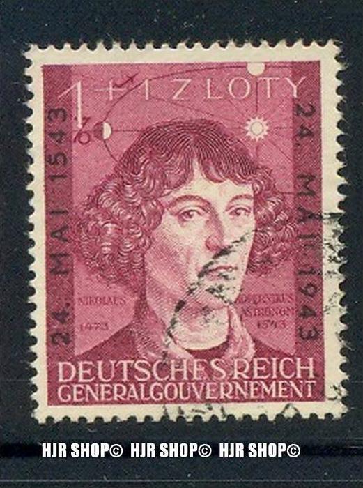 1943, Kopernikus, Minr. 104 gest.