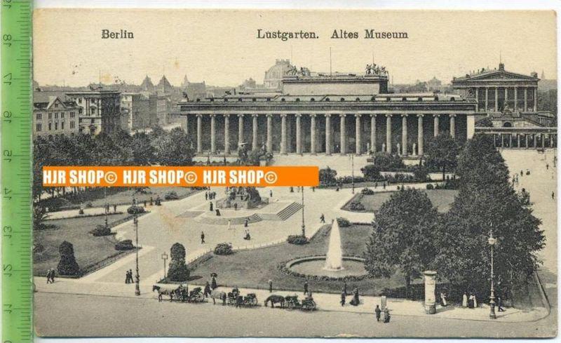 """""""Berlin, Lustgarten, Altes Museum""""  um 1920/1930    Ansichtskarte,  mit Frankatur, mit Stempel, Berlin-Charlottenburg 26"""
