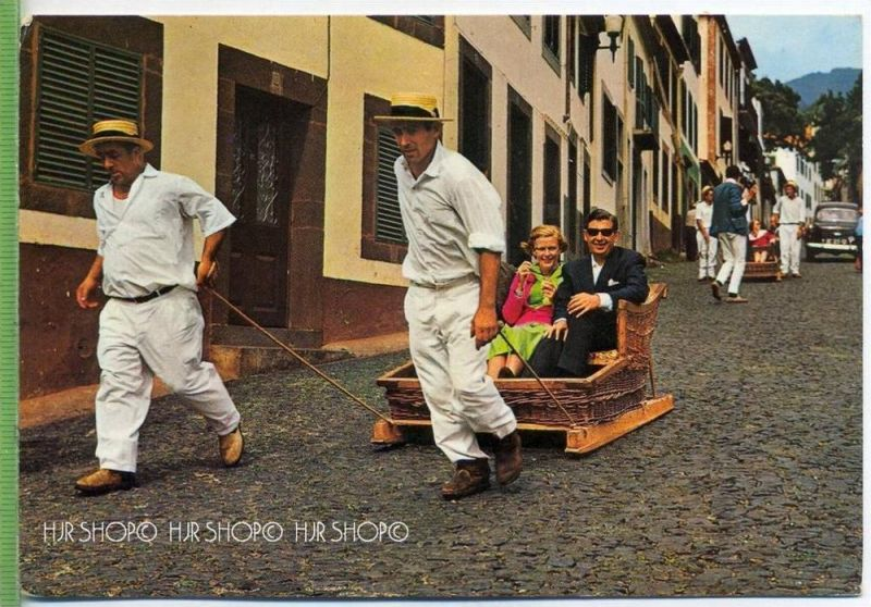 Ihla da Madeira um 1960/1970,  Verlag: --. POSTKARTE unbenutzte Karte