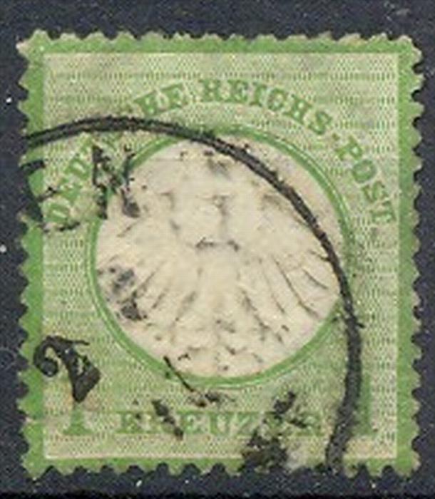 1872, MiNr. 7 Gest.  Zustand: I-II, (H)