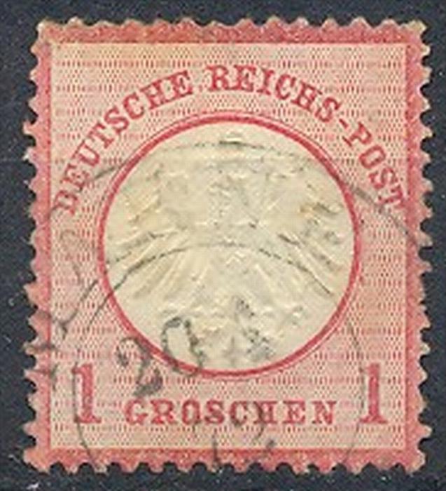 1872, MiNr. 4 Gest.  Zustand: I-II, (H)