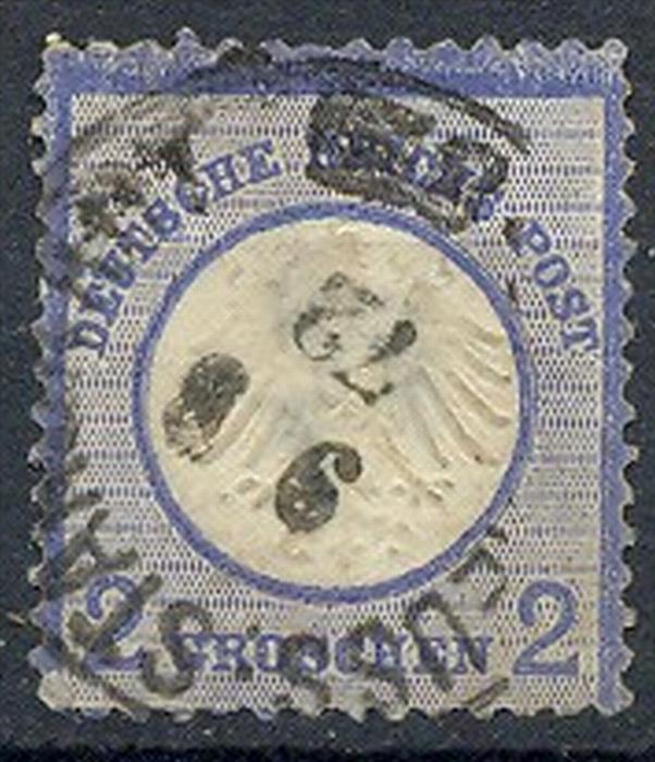 1872, MiNr. 5 Gest.  Zustand: I-II, (H)