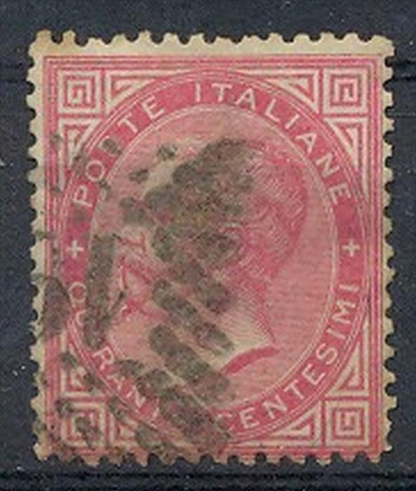 Italien,1863,Viktor Emanuels II, MiNr.120Gest. Zustand: I-II