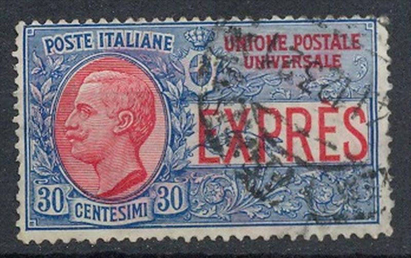 Italien,1908, MiNr.93 Gest. Zustand: I-II