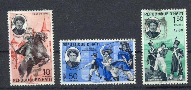 Haiti,1961, MiNr.658+660+662,Gest.  Zustand: I-II