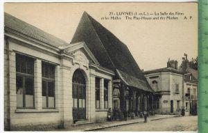Luynes-La Salle des Fètes et les HallesVerlag: -----PostkarteErhaltung: I-II, unbenutzt, Karte wird in Klarsichthülle ve