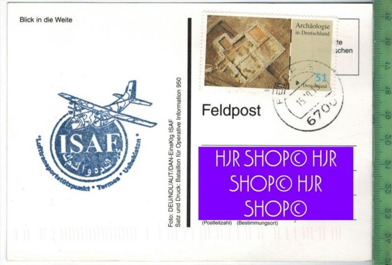 Usbekistan-Feldpost 2013Verlag: ----------, FELDPOST KARTEmit Frankatur  mit  Stempel 15.10.13 Erhaltung: I-II, Karte wi