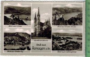 Gruß aus RemagenVerlag: Schöning & Co., Lübeck, POST KARTEErhaltung: I-II, unbenutzt, Karte wird in Klarsichthülle v