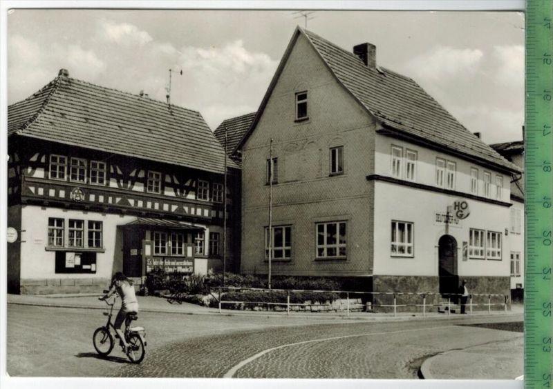 """Gräfenroda, Rat der Gemeinde und HO-Gaststätte """"Deutscher Hof""""1980Verlag: Bild und Heimat, Reichenbach, POST"""