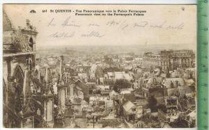 St. Quentin 1931Verlag: ----- POSTKARTEmit Frankatur  mit Stempel 31.7.31Erhaltung: I-II, Karte wird in Klarsichthülle v