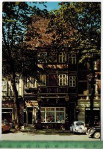 Königslutter, Haus Nack 1974Verlag:Schöning & Co., Lübeck, POSTKARTEmit Frankatur. mit Stempel KÖNIGSLUTTER  14.9.74