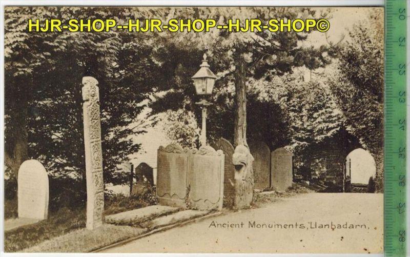 Ancient Monuments, LlanbadarnVerlag: -----------,  POSTKARTEErhaltung: I-II, unbenutzt Karte wird in Klarsichthülle vers