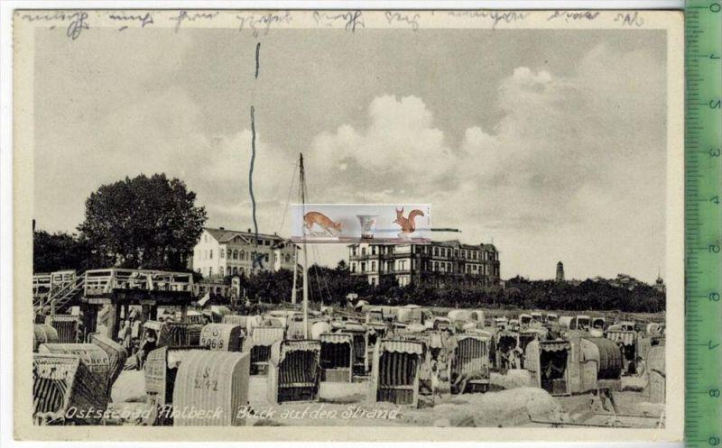 Ostseebad-Ahlbeck -1934-Verlag : M. Hertzfeldt, Stettin, POSTKARTEmit Frankatur, mit Stempel  AHLBECK 14.7.34 Erhaltung: