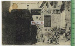 Ort in Frankreich-1917-Verlag : J. Lilienbaum, FELD- POSTKARTEohne Frankatur, mit Stempel 17.4.17 Karte mit Flecken  Erh