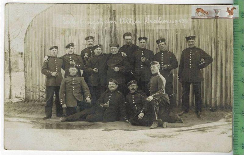 Erholungsheim Alten-GrabowVerlag : Julius Graetz, Dörnitz, FELD-POSTKARTEErhaltung: I-II, unbenutztKarte wird in Klarsic