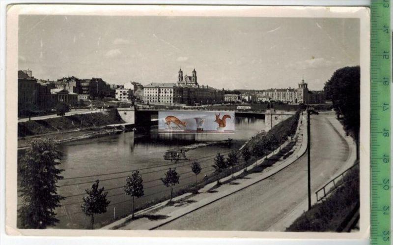 Vilnius - 1955Verlag:---------,   POSTKARTEohne Frankatur, mit Stempel    Erhaltung: I-II, Karte wird in Klarsichthülle