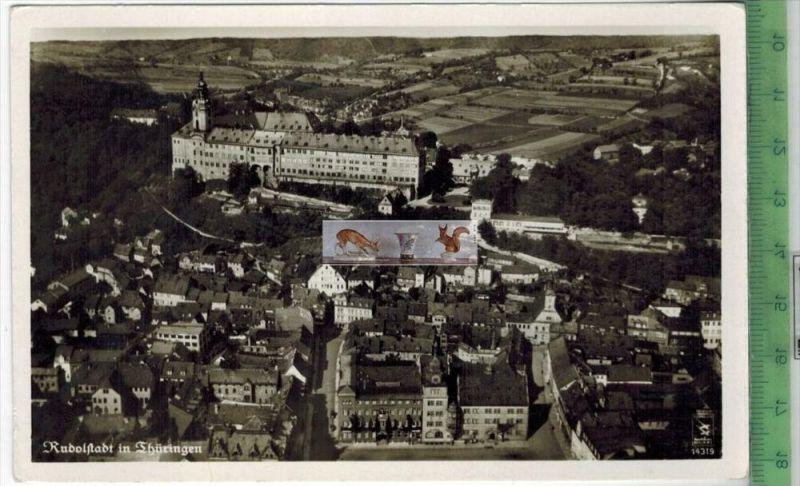 Rudolstadt, FliegeraufnahmeVerlag: Klinke & Co., Berlin,     POSTKARTEErhaltung: I-II, UnbenutztKarte wird in Klarsi