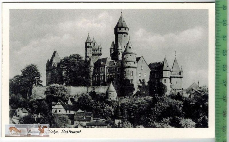 Braunfels/Lahn, LuftkurortVerlag: Heinrich Mehl-Schäfers, Braunfels/Lahn,  POSTKARTEErhaltung: I-II, UnbenutztKarte wird