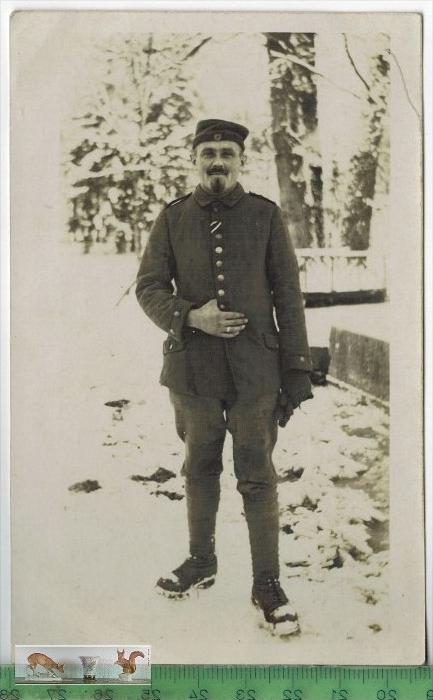 Soldat – 1918 -Verlag:   POSTKARTERückseite beschr.Erhaltung: I-II, UnbenutztKarte wird in Klarsichthülle verschic