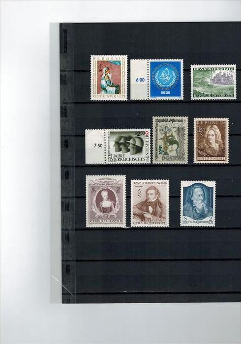 9 x Österreich Briefmarken**,  Zustand. Gut
