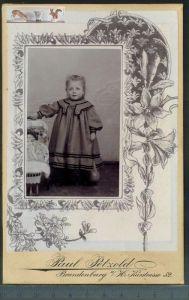 Altes Foto auf PappePaul Petzold, Brandenburg, H. Kurstrasse 52 Maße: 16,5 x 10,8 cmZustand: GutWir haben ständig altes