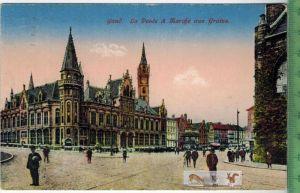 Gand -1917-Verlag. --------,FELD- POSTKARTE  ohne Frankatur, mit Stempel, gelaufen!! 30.12.17 Erhaltung: I-II,  Karte wi