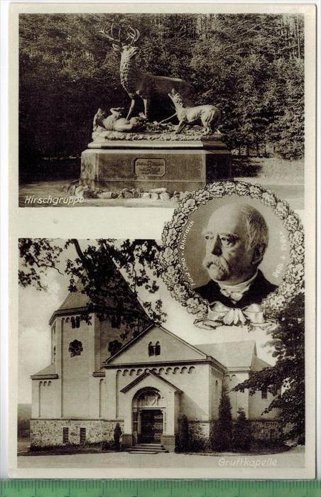 Friedrichsruh,Gruftkapell e, Fürst Otto von Bismarck