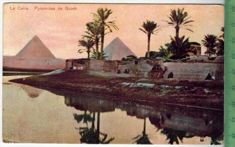Le Caire, Pyramides de Gizeh