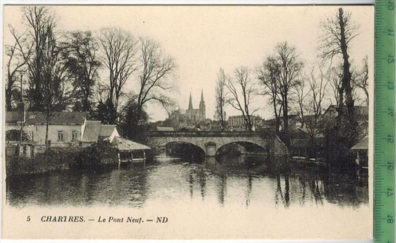 Chartres-Le Pont Neuf.