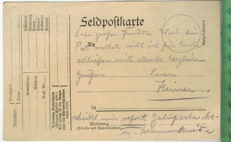 FELDPOST - 1916 -