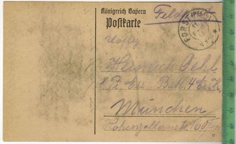 FELDPOST - 1918 -