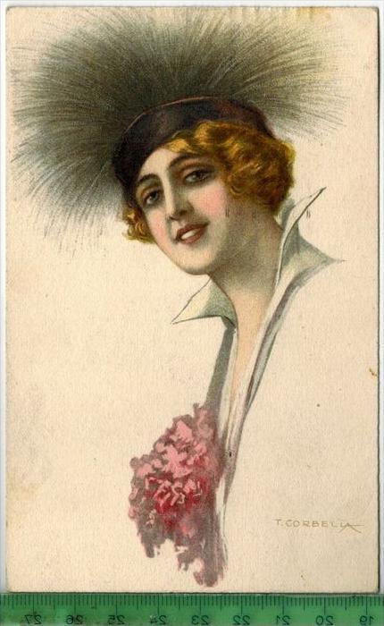 Künstlerkarte, Corbella 1921Verlag:  --------, Postkarte Mit Frankatur, mit Stempel, COTTBUS 1.11.1921 Erhaltung: I-II,