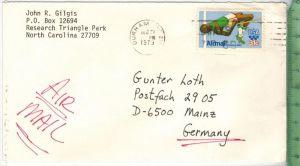 28. Sept. olympische Sommerspiele Moskau, 1980-31c auf Luftbriefgest.  1979Zustand: Gut