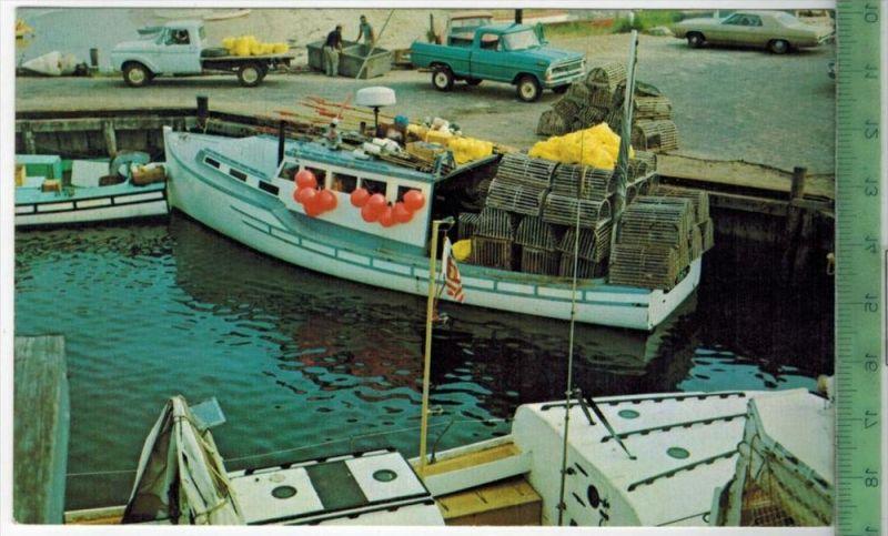 Lobster Boat, 1977Verlag: -----------------,POSTKARTEFrankatur,  Stempel, Erhaltung: I-II, Karte wird in Klarsichthülle