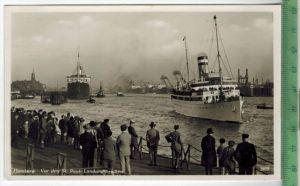 Hamburg, Vor den St. Pauli-LandungsbrückenVerlag: H. Andres, Hamburg,  – Postkarteunbenutzte Karte,Maße: 14 x 9 cm